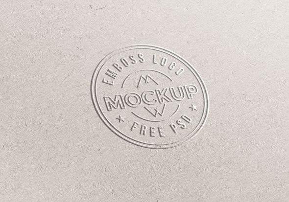 Free-Emboss-Logo-Mockup-PSD